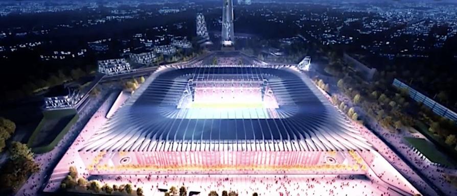 Pembangunan New Milano Stadium di Kota Milan